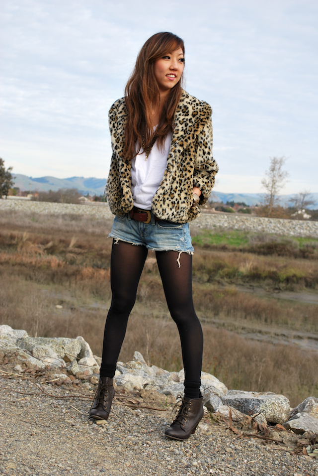 Shorts and nylons